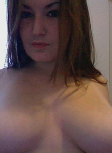Kaylas Huge Perky Tits Are Gonna To Pop Out Of Her Tight Black Bra - Picture 12