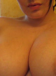 Kayla Pulls Down Her Top To Show Off Her Huge Tits To You - Picture 2